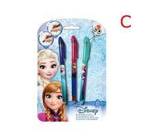 "Gelová pera ""Frozen"", mazací, sada, 0,8 mm, 3 barvy"