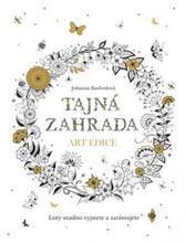 """Antistresové omalovánky """"Tajná zahrada (art edice)"""", Johanna Basfordová"""