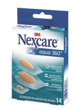 """Náplast """"Nexcare Aqua 360°"""", voděodolná, 14ks, 3M"""