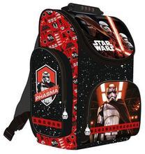 """Školní batoh, aktovka  """"Star Wars Episode7"""", červená, ergonomický 16"""", UNIPAP"""