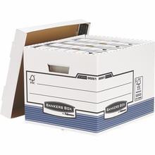 "Archivační kontejner ""BANKERS BOX® SYSTEM"", modrá, FELLOWES"