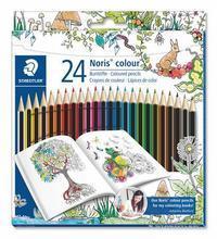 "Barevné pastelky ""Noris Colour"", Johanna Basford lim.edice, sada, šestihranná, STAEDTLER"