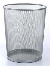 Odpadkový koš drátěný, VICTORIA, stříbrný