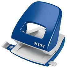 """Celokovová stolní děrovačka """"NeXXt Wow 5008"""", modrá, 30 listů, LEITZ"""