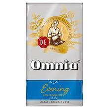 """Káva mletá, pražená, vakuově balená, 250 g, DOUWE EGBERTS """"Omnia Evening"""", bez kofeinu"""