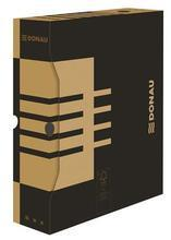 Archivační krabice, přírodní hnědá, karton, A4, 80mm, DONAU