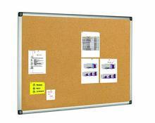 Korková tabule, 100x150cm, hliníkový rám, VICTORIA