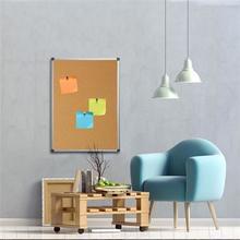 Korková tabule, 90x120cm, hliníkový rám, VICTORIA