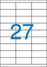 Etiketa, ILC, 70x30 mm, třířadé, 2700 ks/bal., VICTORIA