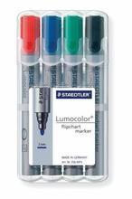 """Popisovač na flipchart """"Lumocolor 356"""", sada, 4 barvy, kuželový hrot, STAEDTLER - 2/3"""