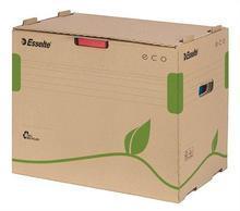 """Archivační krabice na pořadače """"Eco"""", přírodní hnědá, s předním otevíráním, ESSELTE"""