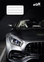 """Sešit """"Fast cars"""", A5, mix motivů, čtverečkovaný, 32 listů, COOL by Victoria"""