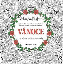 """Antistresové omalovánky """"Vánoce"""", Johanna Basford"""