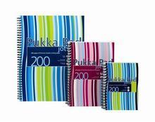 """Blok """"Jotta"""", mix barev, linkovaný, drátěná kroužková vazba, A4, 100 listů, PUKKA PAD"""