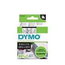 """Páska, 9 mm x 7 m, DYMO """"D1"""", průhledná-černá"""