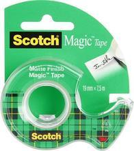 """Lepicí páska """"Magic Tape 810"""", s odvíječem, 19mm x 7,5m, 3M/ SCOTCH"""