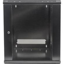 """Rack skříň, černá, 19"""", 9U, 500x570x600 mm, nástěnná, INTELLINET"""