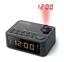 """Rádio s projekcí času """"M-178PW"""", černá, MUSE"""