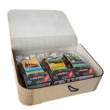 """Čajová sada """"Milovníci čajů"""" v dárkovém balení, 3 x 100 g, CAFE FREI"""