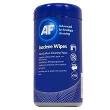 """Impregnované čistící ubrousky, isopropyl, """"Isoclene Wipes"""" AF, 100ks/bal."""