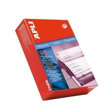 Tabelační etiketa, jednořadé, 210 x 148,1mm, 1000ks/bal., APLI