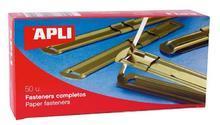 Rychlovázací spona, kovová, 50 ks, APLI