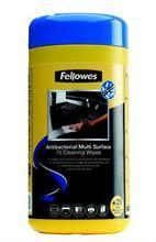 """Čistící ubrousky, FELLOWES """"Virashield Multi Surface Cleaning Wipes"""", 75ks/bal."""