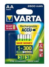 """Nabíjecí baterie, AA, 2x2500 mAh, přednabité, VARTA """"Professional Accu"""""""
