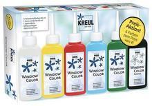 "Základní sada Barva na sklo ""Window Color Promotion Set"", Hobby Line - 2/2"