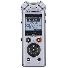 "Diktafon, digitální, 4GB paměť, OLYMPUS ""LS-P1"", stříbrný"