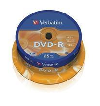 DVD-R 4,7GB, 16x, AZO, Verbatim, 25-cake