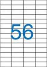 Etiketa, ILC, 52,5x21,2 mm, čtyřřadé, 5600 ks/bal., VICTORIA