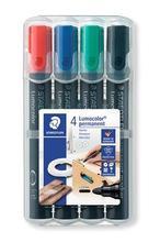 """Permanentní popisovač """"Lumocolor 352"""", sada, 4 barvy, 2 mm, kuželový hrot, STAEDTLER"""