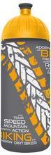 FreeWater láhev 0,7l Biker antracitová-žlutá, FREEWATER