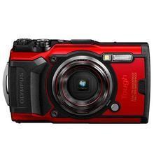 """Fotoaparát """"TG-6"""", červená, 4K, Wi-Fi, vodotěsný, OLYMPUS"""