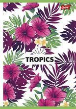 """Sešit """"Tropic"""", čtverečkovaný, A5, 96 listů, UNIPAP - 2/3"""