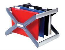 """Zásobník na závěsné desky """"Crystalfile Extra Organisa Frame"""", plast, REXEL"""