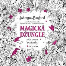 """Antistresové omalovánky """"Magická džungle"""", Johanna Basford"""