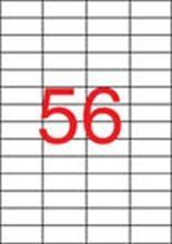 Etiketa, pro laserové tiskárny, 52,5x21,2 mm, 14000ks/bal., APLI