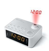 """Rádio s projekcí času """"M-178PW"""", bílá, MUSE"""