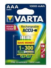 "Nabíjecí baterie, AAA, 2x1000 mAh, VARTA ""Professional Accu"""