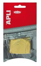 Visačky pro označení zboží, 22x35 mm, žluté, APLI