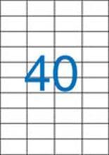 Etiketa, ILC, 52,5x29,7 mm, čtyřřadé, 4000 ks/bal., VICTORIA