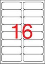 Etiketa, ILC, 99,1x34 mm, zaoblené rohy, 1600ks/bal., APLI
