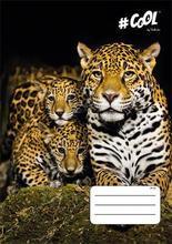 "Sešit ""Wildlife"", mix motivů, A4, čtverečkovaný, 32 listů, COOL by Victoria - 3/4"