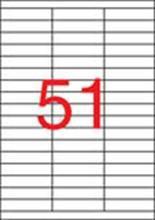Etiketa, ILC, 70x16,9 mm, 5100 ks/bal., APLI