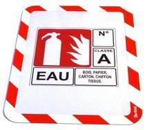 """Magnetický obal """"Magneto Safety"""", červená-bílá, samolepící, A4, TARIFOLD"""