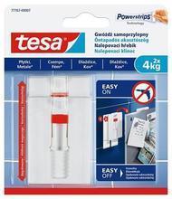 """Nalepovací hřebík """"Powerstrips® 77767"""", na hladké, nastavitelný, 4 kg, TESA"""