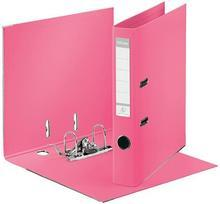 """Pákový pořadač """"Standard"""", Solea růžová, ochranné spodní kování, 50 mm, A4, PP, ESSELTE"""