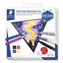 "Akvarelová sada zvěrokruh ""Design Journey Zodiac Sign"", 4 barvy, STAEDTLER 61 DJT1"